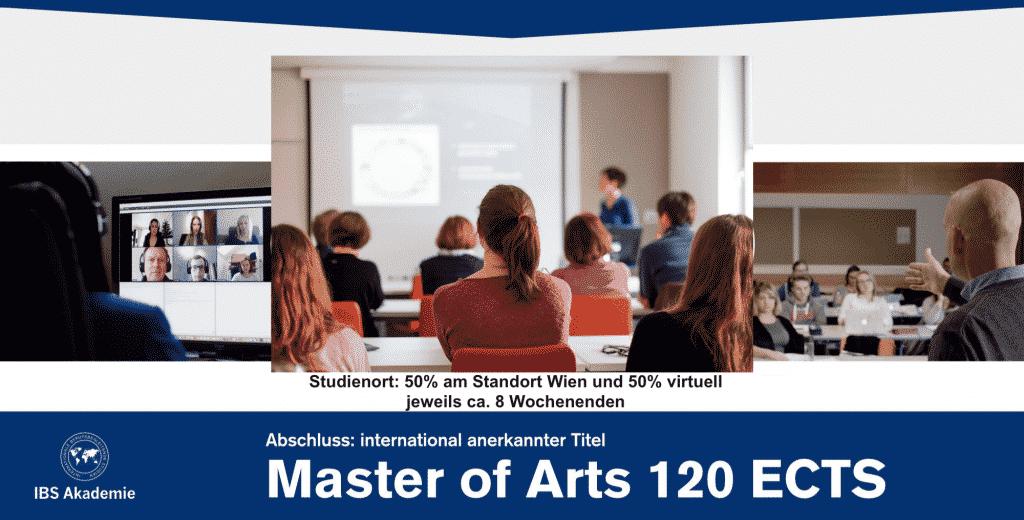 Master of Arts IBS Akademie
